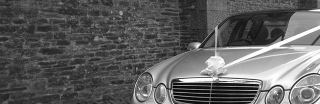Mercedes Benz E Class wedding car Plymouth Executive Cars 13