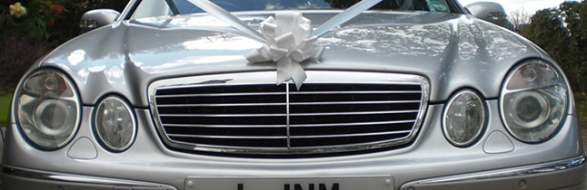 Mercedes Benz E Class wedding car Plymouth Executive Cars 6