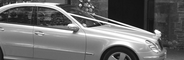 Mercedes Benz E Class wedding car Plymouth Executive Cars